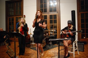 Velvet Heat performs for the Westmoreland Jazz Society at the Westmoreland Museum of American Art in October 2012.